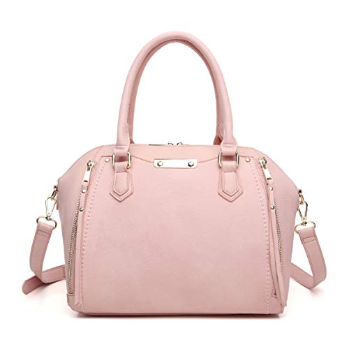 Aitbags Purses and Handbags for Women Tote with Shoulder Strap Big Crossbody Bag Pink -