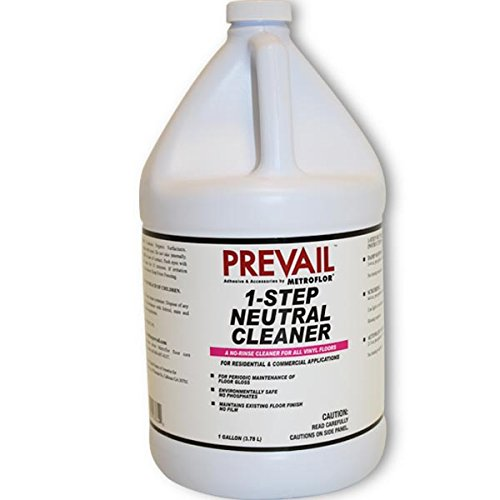 Prevail Metroflor 1-Step Neutral Cleanr, Gallon