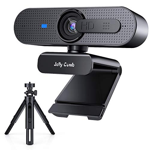 🥇 Webcam 1080P Full HD autoenfoque con Micrófono Estéreo