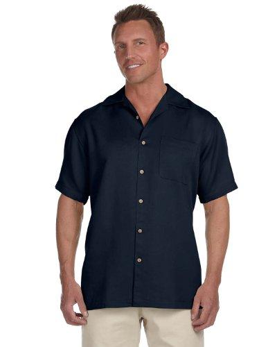 Harriton Men's Bahama Cord Camp Shirt, Large, ()
