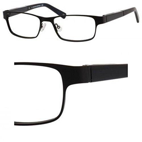 Banana Republic Metal Rectangular Eyeglasses 52 0003 Satin Black
