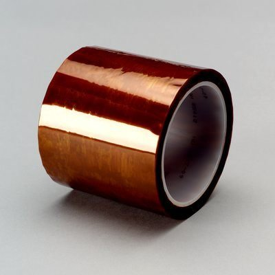 3M (5413) Polyimide Film Tape 5413 Amber, 24 in x 36 yd 2.7 mil [You are purchasing the Min order quantity which is 1 Rolls] ()