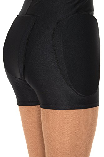 (Jerry's #850 Protective Shorts - Black, Youth S/M)