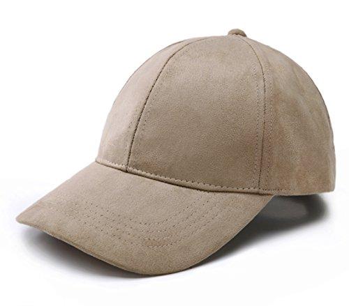 joowen-6-panel-faux-suede-leather-classic-adjustable-baseball-cap-camel