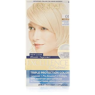 L'Oreal Paris Excellence Creme, 01 Extra Light Ash Blonde,