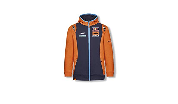 Red Bull KTM Official Teamline Zip Sudadera con Capucha ...