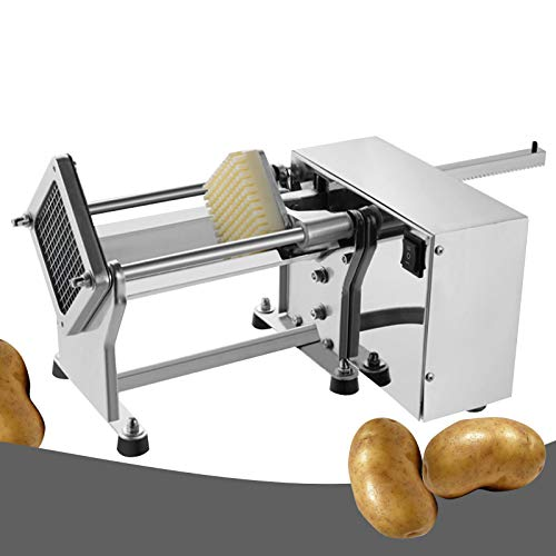 Commercial Electric Potato Slicer for Chips Finlon French Fries Potato Cutting Machine Fruit Vegetable Cutter With Three Moulds by Finlon