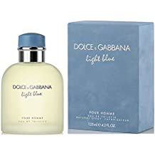 Dolce & Gabbana Eau de Toilettes Spray, Light Blue, 4.2 Fluid Ounce For Men or/and Pour Homme
