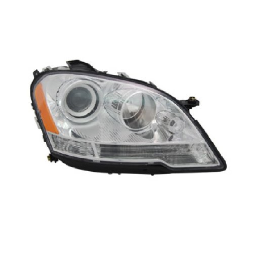 OE Replacement Mercedes-Benz Passenger Side Headlight Assembly Composite (Partslink Number MB2503171) ()