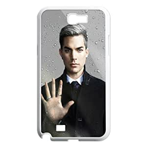Samsung Galaxy N2 7100 Cell Phone Case White Adam Lambert M2356154
