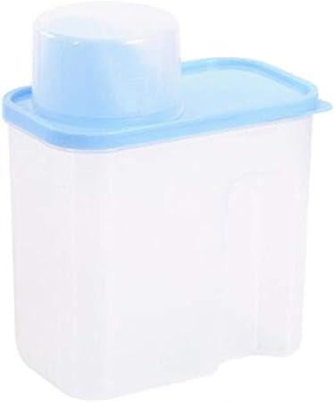 LIYANCMX Cereales/legumbres Caja de Almacenamiento de Cocina Tanque de Almacenamiento plástico Transparente con Tapa Sello Conjunto de 3 Piezas Recipientes: Amazon.es: Hogar