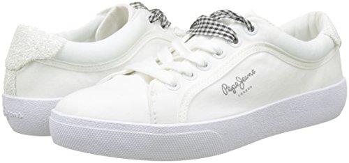Scarpe Skate Rene Donna Pepe Basse Da Ginnastica Bianco white Jeans q1t5H