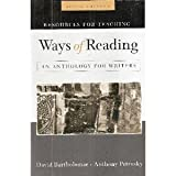 img - for Resources for Teaching, Ways of Reading an Anthology for Writers book / textbook / text book
