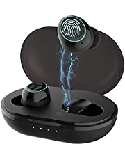 Bluetooth Kopfhörer V5.0, TRANYA B530-Pro Wireless Kabellos In Ear Ohrhörer Qualcomm® aptX™ Codec, 80 Stunden Spielzeit Touch-Control