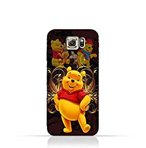 Samsung Galaxy S6 Edge TPU Silicone Protective Case with Winnie the Pooh Design
