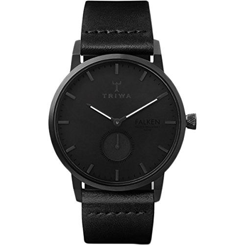 Triwa Midnight Falken Watch | Black Classic