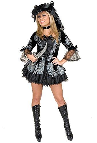 Women's Elegant Pirate Lady Costume Dress Mediun 8-10
