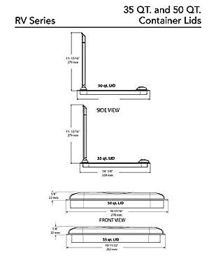 Rev-A-Shelf - - 35 Quart Lid Only