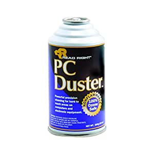 read right pc duster refill 10 ounce can non flammable rr3509 compressed air. Black Bedroom Furniture Sets. Home Design Ideas