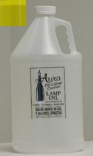 Aura® Liquid Paraffin Lamp Oil by the gallon - Mellow Yellow Mellow Yellow Lamp