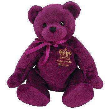 Ty Beanie Baby - Majestic the Bear (Uk, Australia & New Zealand Exclusive)
