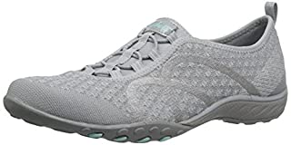 Skechers Sport Women's Breathe Easy Fortune Fashion Sneaker,Grey Knit,7.5 M US (B01J6FKPHM) | Amazon price tracker / tracking, Amazon price history charts, Amazon price watches, Amazon price drop alerts