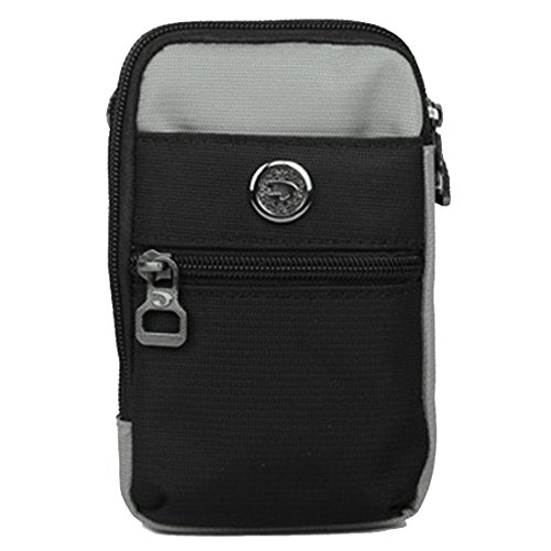 LerBen Crossbody Bag Cellphone Wallet Pack with New Shoulder Women's Girls Small Gray Waist Purse Strap Mini r0xYwrXqI