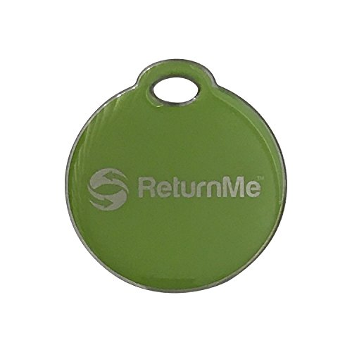 Smart Luggage ID Tags with Lifetime Global Recovery Service (Lime - 1 Pack)