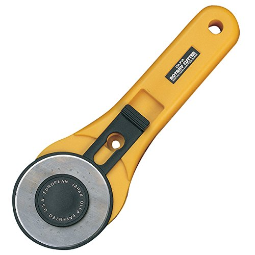 (OLFA RTY-3/G 60mm Straight Handle Rotary)
