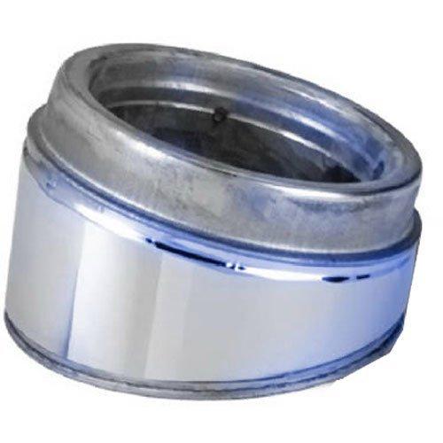 Selkirk Metalbestos 6T-EL15KIT 6 -Inch Stainless Steel Insulated 15 Elbow Kit - Metalbestos Chimney Pipe