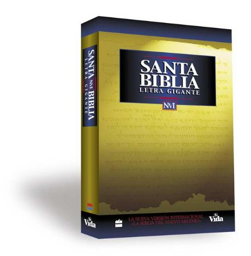 Spanish - NVI Giant Print Bible-SC