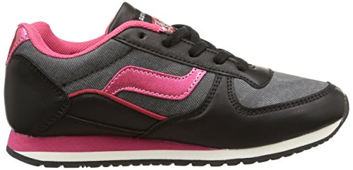 Noir Kaporal Joggy Basses Fille Baskets Noir Rose wXRqXa1