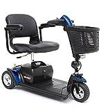 Pride Mobility - Go-Go Sport - Travel Scooter - 3-Wheel - Blue