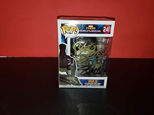 STAN LEE and MARK RUFFALO - Autographed Signed HULK FUNKO POP 241 Vinyl Figure THOR RAGNAROK PLANET COA