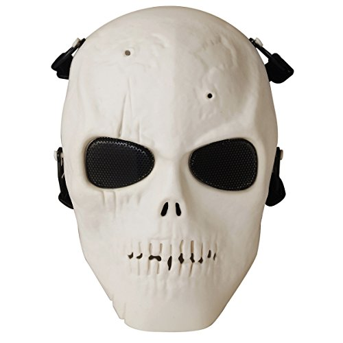 [Aniwon Cosplay Mask Airsoft Wargame Protect Army Full Head Mask] (Punisher Cosplay Costume)