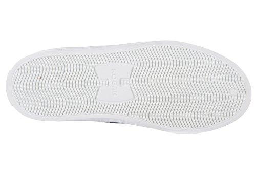 Hogan Rebel chaussures baskets hautes sneakers enfant garçon en cuir neuves r 14