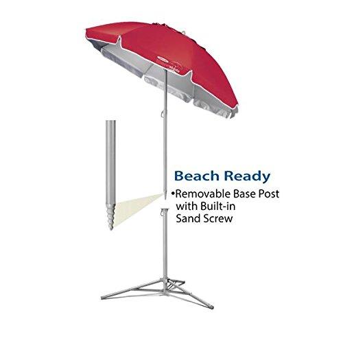 Portable Umbrella Base : Wondershade portable umbrella royal blue camping companion