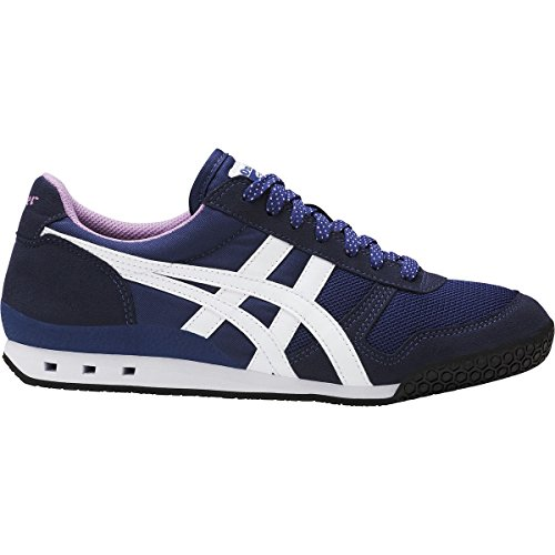 Onitsuka Tiger - Womens Ultimate 81 Sneakers, Size: 9 B(M) US, Color: Navy Peony/Smoky Grape