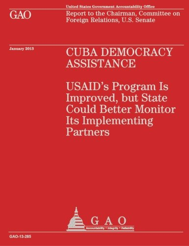 Download Cuba Democracy Assistance PDF