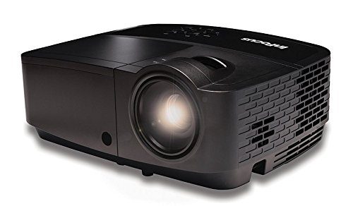 InFocus IN2128HDx 1080p Network Projector, 4000 Lumens, HDMI, 4GB Internal Memory, Wireless-Ready