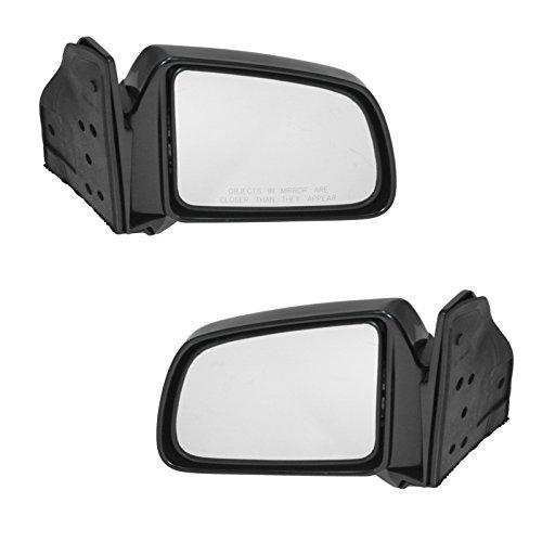 (Manual Folding Mirrors Left LH & Right RH Pair Set for Geo Sidekick Tracker 2 Dr )