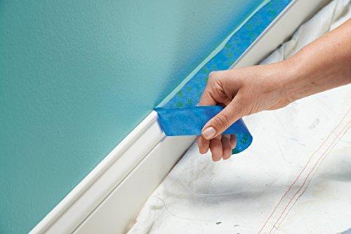 ScotchBlue 2093EL-24CVP Trim + BASEBOARDS Painters Tape.94 in x 60 yd, 3 Rolls, Blue by ScotchBlue (Image #3)