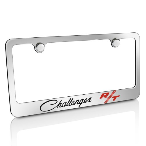 CarBeyondStore Dodge Challenger RT Classic Chrome Metal License Plate Frame ()