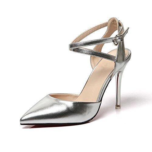 heelsWomen BAJIAN zapatos sandalias oras Chanclas bajos Alto toe zapatos sandalias verano LI peep se qOntrO