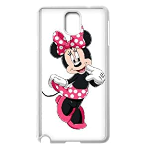 Samsung Galaxy Note 3 Cell Phone Case White Disney Mickey Mouse Minnie Mouse Hard Personalized Phone Case Cover XPDSUNTR00719