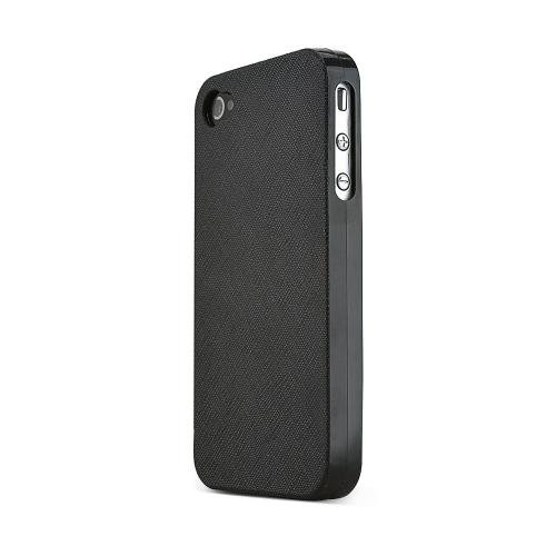 iPhone 4 / 4S用電話ファッションジェルケース - ブラック   B00FRA063Y