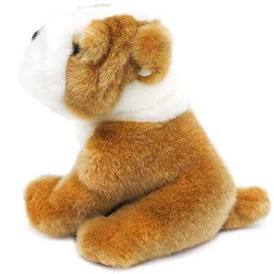 VIAHART Everett The English Bull Dog   6 Inch Stuffed Animal Plush   by Tiger Tale Toys: Toys & Games