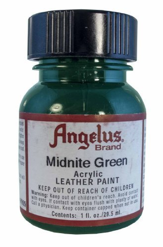 Springfield Leather Company's Midnight Green Acrylic Leather Paint, 1 oz