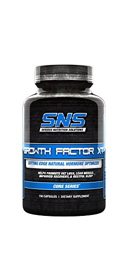 - Serious Nutrition Solution Growth Factor XT Dietary Supplement Capsules, 150 Count