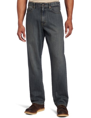 Lee Men's Big & Tall Premium Select Custom Fit Loose Straight Leg Jean, Worn Stone, 44W x 30L